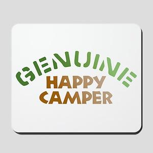 Genuine Happy Camper Mousepad