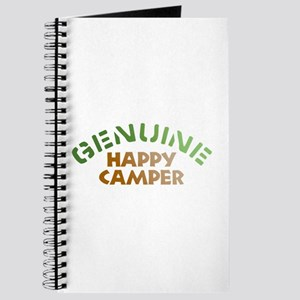 Genuine Happy Camper Journal