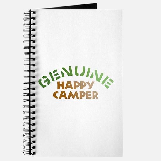 Genuine Happy Camper Journal