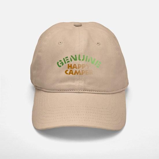 Genuine Happy Camper Baseball Baseball Cap