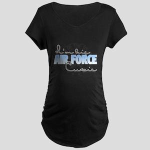 I'm his Air Force Cutie Maternity Dark T-Shirt