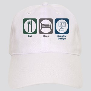 Eat Sleep Graphic Design Cap