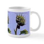 Budding Business Sunflower Blue - Small Mug