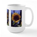 Passions that Pay Sunflower - Custom Large Mug
