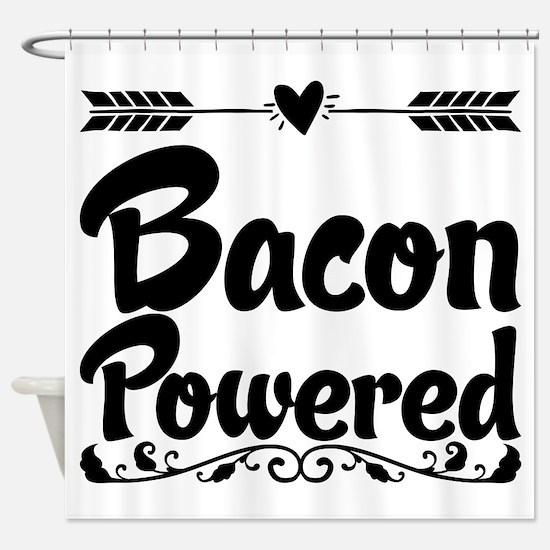 Bacon Powered Shower Curtain