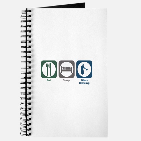 Eat Sleep Glass Blowing Journal
