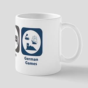Eat Sleep German Board Games Mug