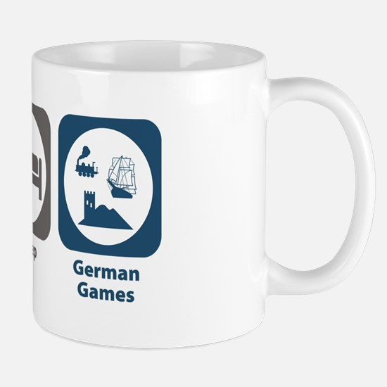 Eat Sleep German Board Games Mug