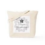 The Princess Is Scrapbooking Tote Bag