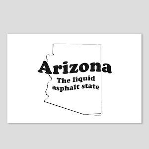 Arizona - The liquid asphalt state ~  Postcards (P