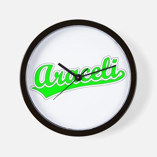 Retro Araceli (Green) Wall Clock