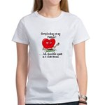 Scrapbooking and Chocolate Pa Women's T-Shirt