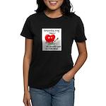 Scrapbooking and Chocolate Pa Women's Dark T-Shirt