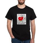 Scrapbooking and Chocolate Pa Dark T-Shirt