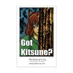 Got Kitsune Mini Poster Print