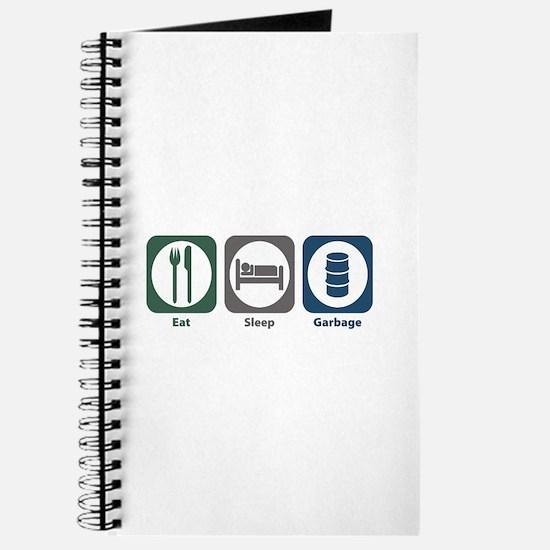 Eat Sleep Garbage Journal
