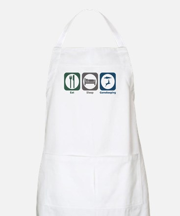 Eat Sleep Gamekeeping BBQ Apron