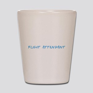 Flight Attendant Profession Design Shot Glass