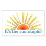 It's the Sun, Stupid Rectangle Sticker 10 pk)