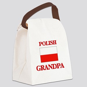 Polish Grandpa Canvas Lunch Bag