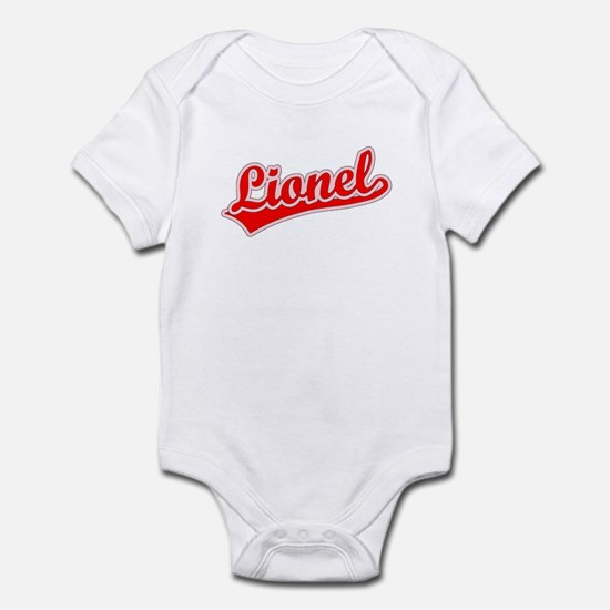Retro Lionel (Red) Infant Bodysuit