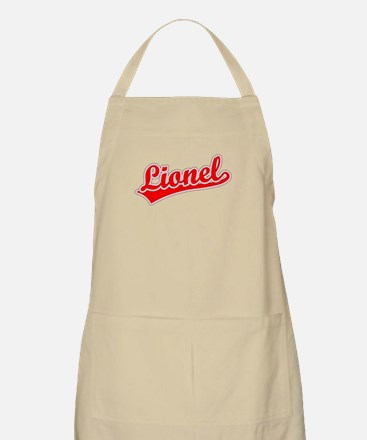 Retro Lionel (Red) BBQ Apron