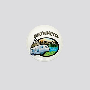God's Hotel Mini Button
