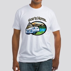 God's Hotel Fitted T-Shirt
