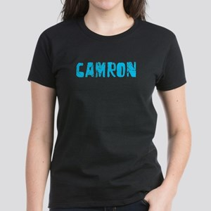 Camron Faded (Blue) Women's Dark T-Shirt