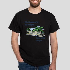 Stays in the camper Dark T-Shirt