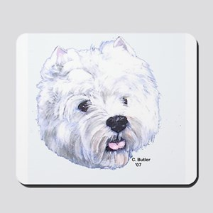 West Highland Terrier - Westi Mousepad