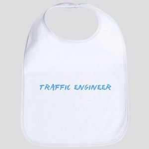 Traffic Engineer Profession Design Baby Bib