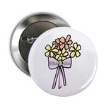 "Grandma's Flowers 2.25"" Button (100 pack)"