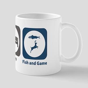 Eat Sleep Fish and Game Mug