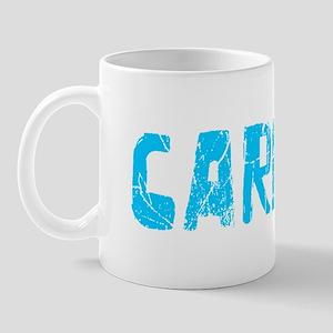 Carlee Faded (Blue) Mug