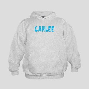 Carlee Faded (Blue) Kids Hoodie