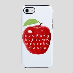 Teacher's Alphabet Abc Apple iPhone 8/7 Tough Case