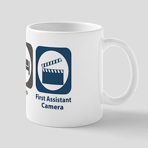 Eat Sleep First Assistant Camera Mug