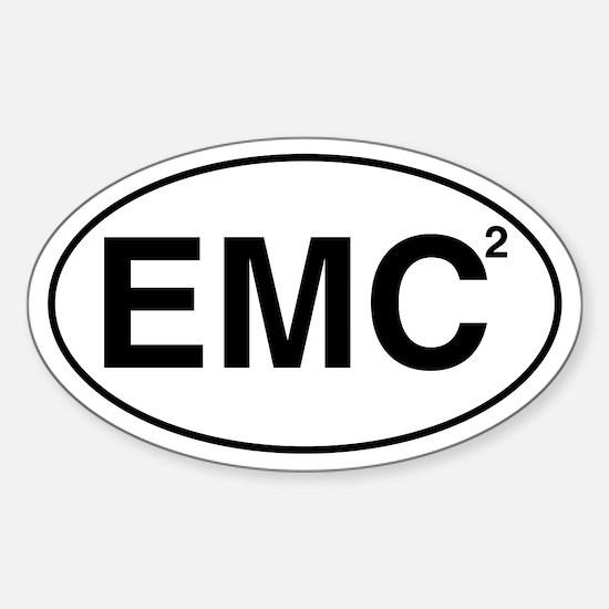 EMC2 Oval Decal