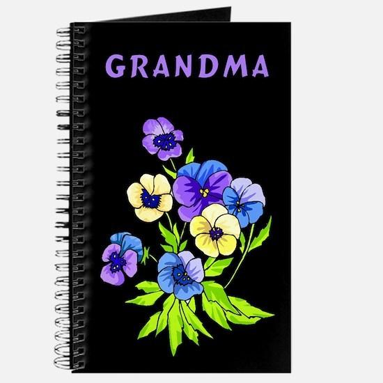 Grandma Pansies Journal
