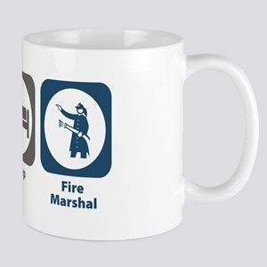 Eat Sleep Fire Marshal Mug