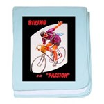Biking is My Passion, Bicycle Riding Print baby bl