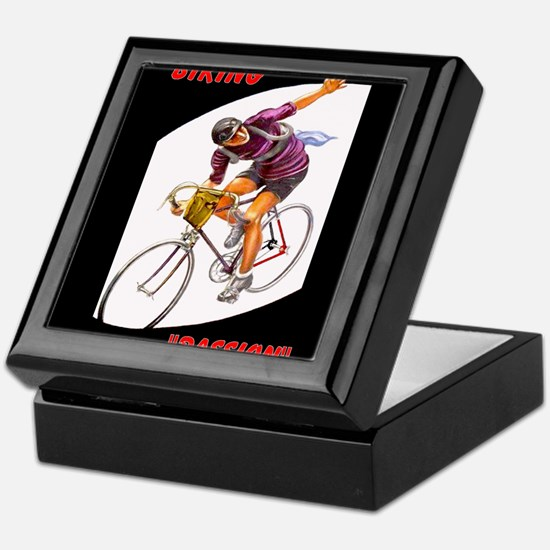 Biking is My Passion, Bicycle Riding Print Keepsak