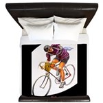 Biking is My Passion, Bicycle Riding Print King Du