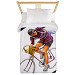 Biking is My Passion, Bicycle Riding Print Twin Du