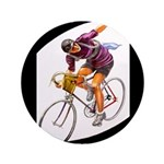 Biking is My Passion, Bicycle Riding Print Button