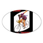 Biking is My Passion, Bicycle Riding Print Sticker