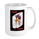 Biking is My Passion, Bicycle Riding Print Mugs