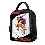 Biking is My Passion, Bicycle Riding Print Neopren