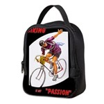 Biking is My Passion, Bicycle Riding Print Neopren